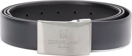 Corneliani Engraved buckle belt