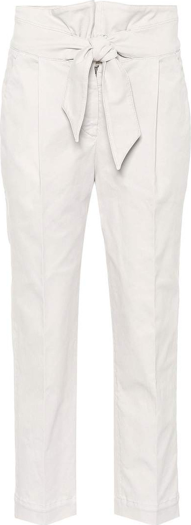 Brunello Cucinelli Cotton-blend trousers