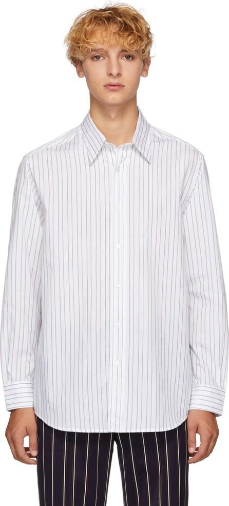 Goodfight White Striped Wayside Shirt