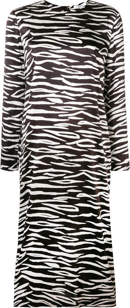 Ganni Zebra print dress