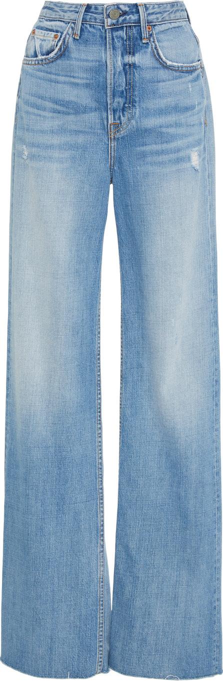 Grlfrnd Carla Super High-Rise Bell Jeans
