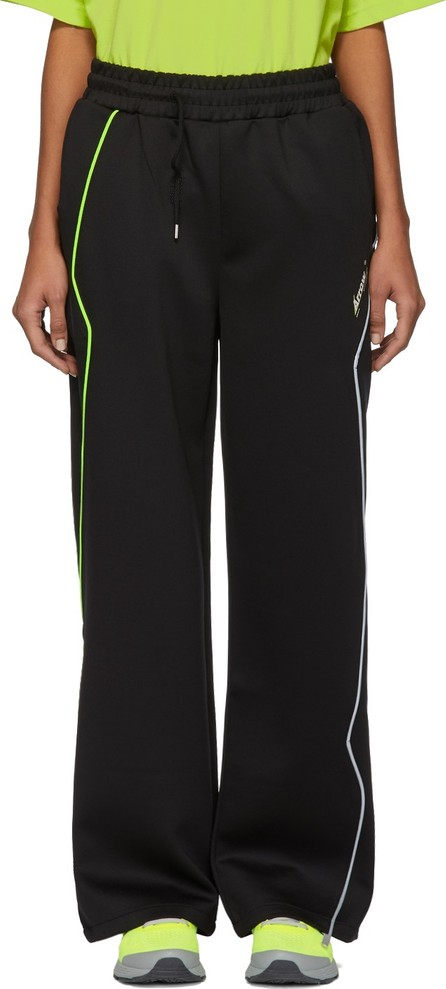 ADER error Black Thunder Track Pants