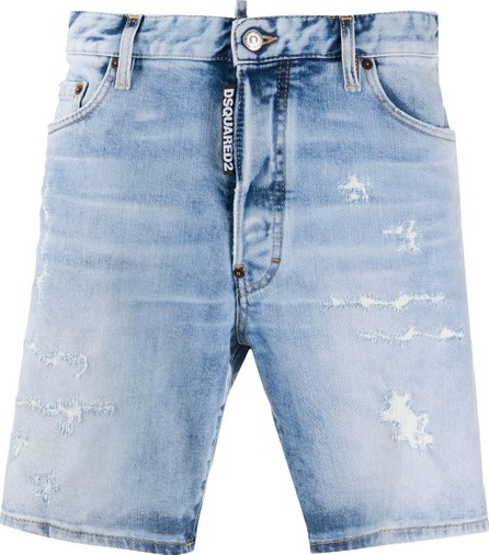 DSQUARED2 1964 distressed denim shorts