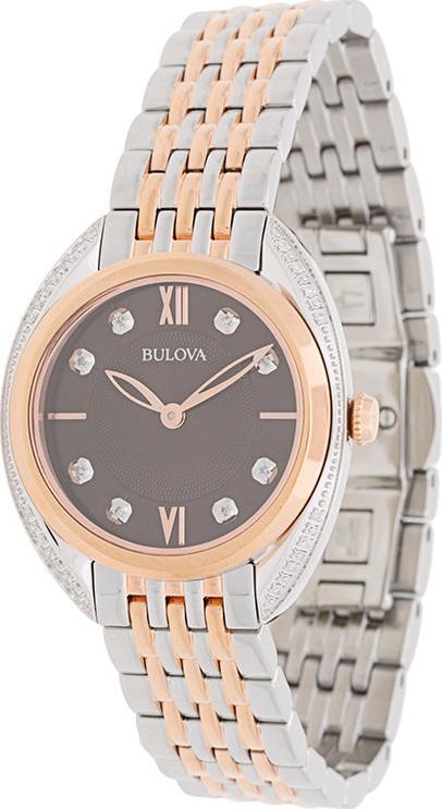 Bulova Diamond two-tone bracelet watch