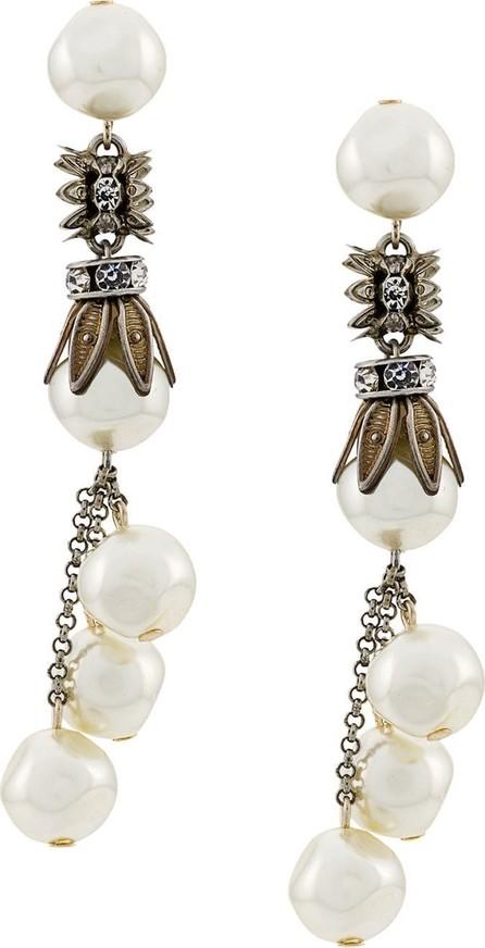 Alberta Ferretti Pearl drop earrings