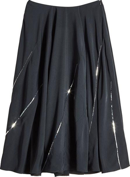 Victoria Beckham Sequin Darted Circle Skirt