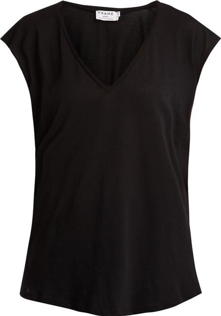FRAME DENIM V-neck cotton-jersey T-shirt
