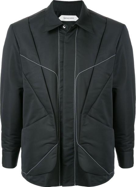 Namacheko Stitching detail lightweight jacket
