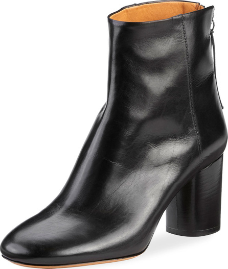 Isabel Marant Ritza Leather Block-Heel Boot