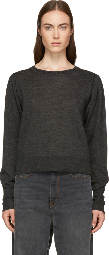 Isabel Marant Grey Auxane Crewneck Sweater