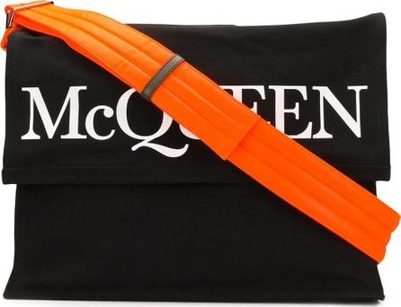 Alexander McQueen Logo print holdall bag