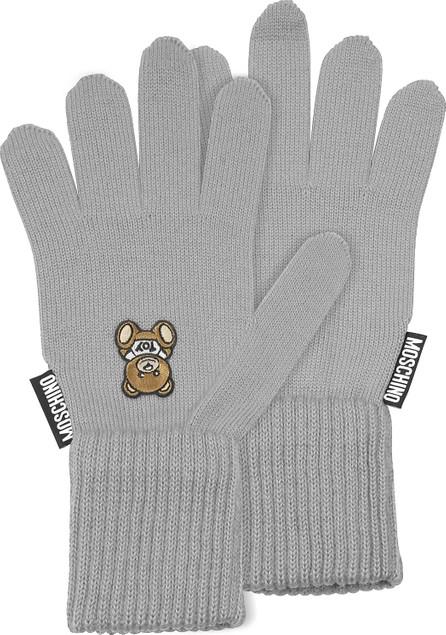 Moschino Moschino Toy Printed Gloves
