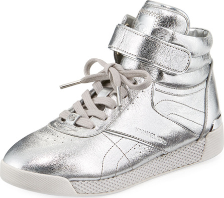 MICHAEL MICHAEL KORS Addie High-Top Metallic Sneaker