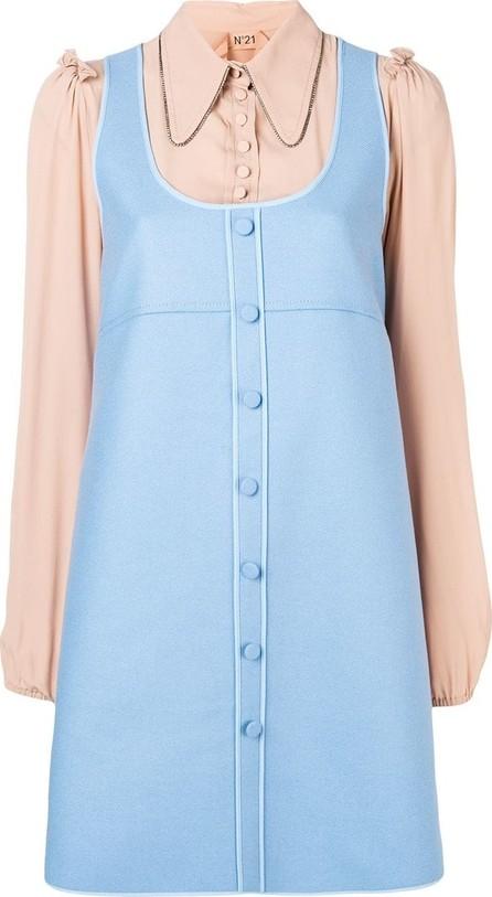 Nº21 Two-tone shirt dress
