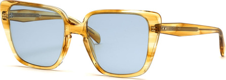 Celine Cat-Eye International-Fit Acetate Sunglasses
