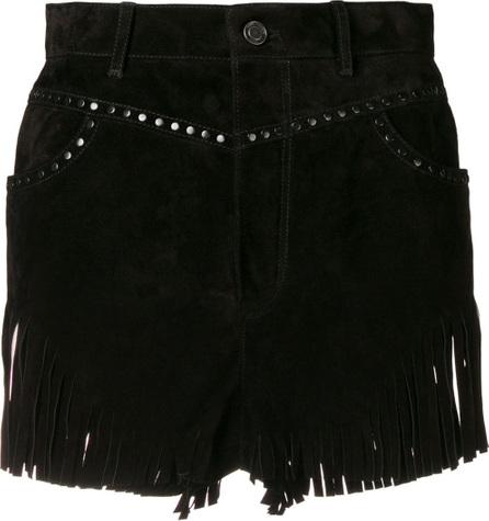 Saint Laurent Fringed shorts