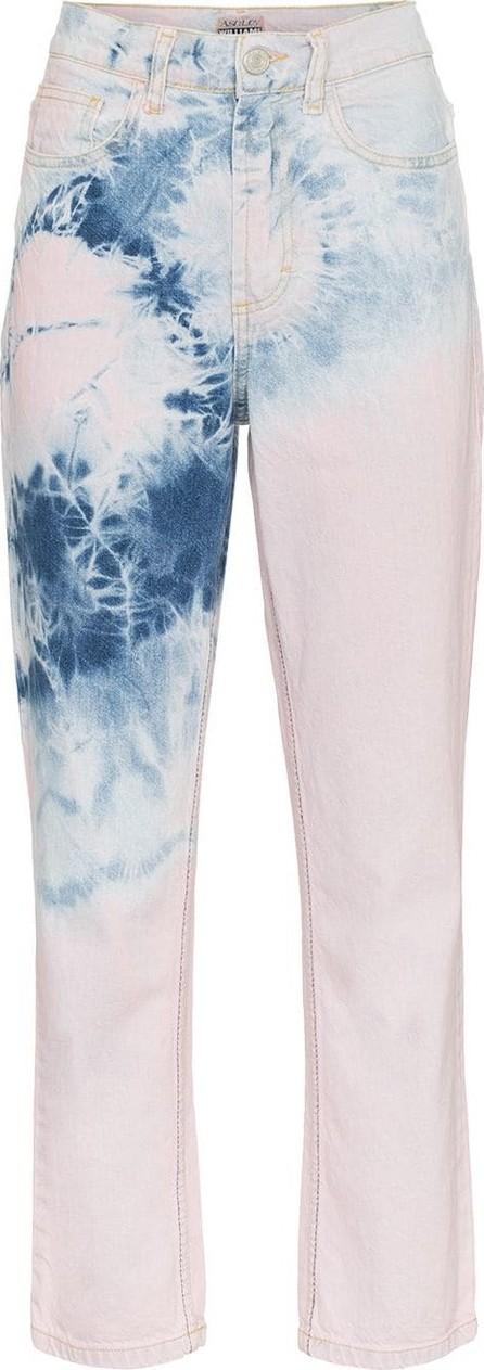 Ashley Williams High-Waisted Tye Dye Jeans