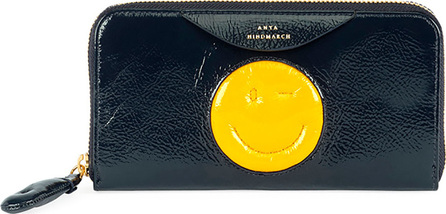 Anya Hindmarch Large Chubby Wink Zip-Around Wallet