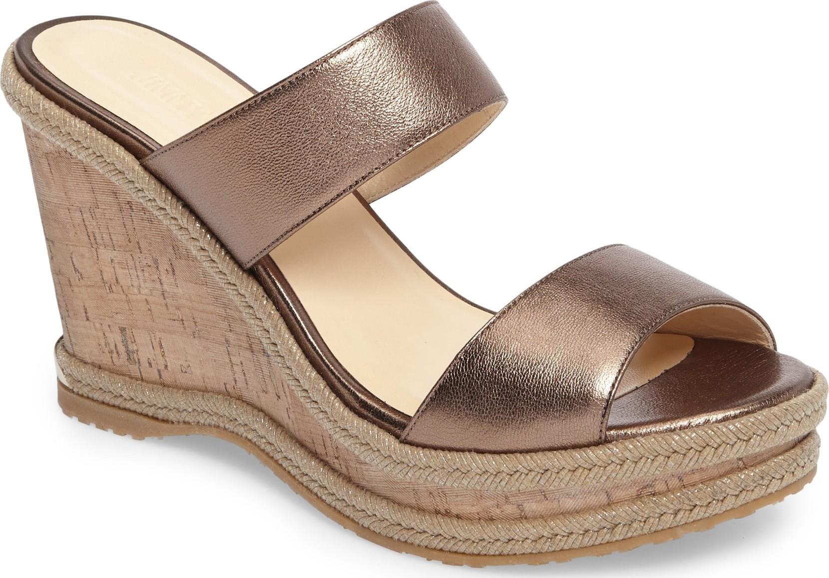 Jimmy Choo Parker Wedge Sandal - Luxed