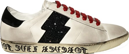 Amiri Live forever glitter viper low top sneakers