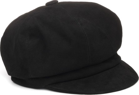 Eugenia Kim Morgie Suede Newsboy Hat