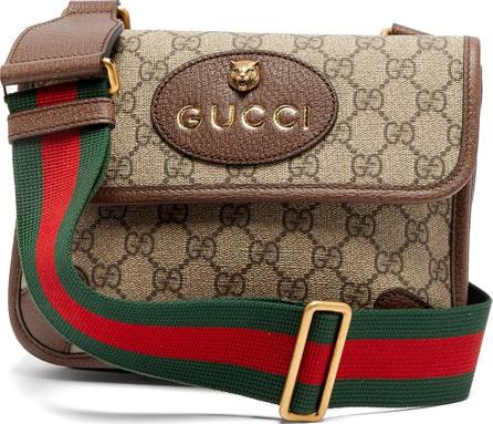 Gucci GG supreme logo cross-body bag