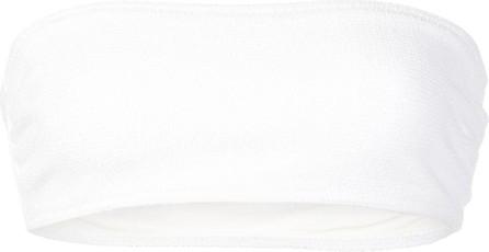 Solid & Striped Bandeau bikini top