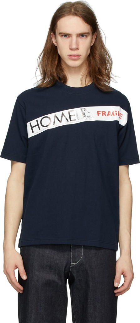 Junya Watanabe Navy 'Home London' T-Shirt