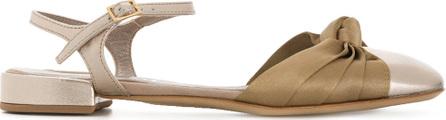 Agl Attilio Giusti Leombruni Contrast knot detail sandals