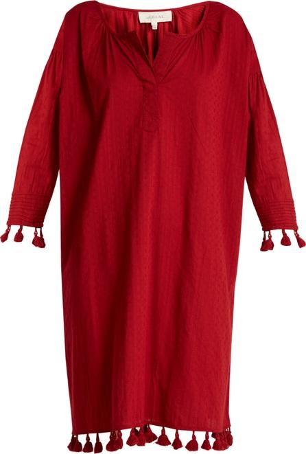 THE GREAT. The Tassel Tunic cotton dress