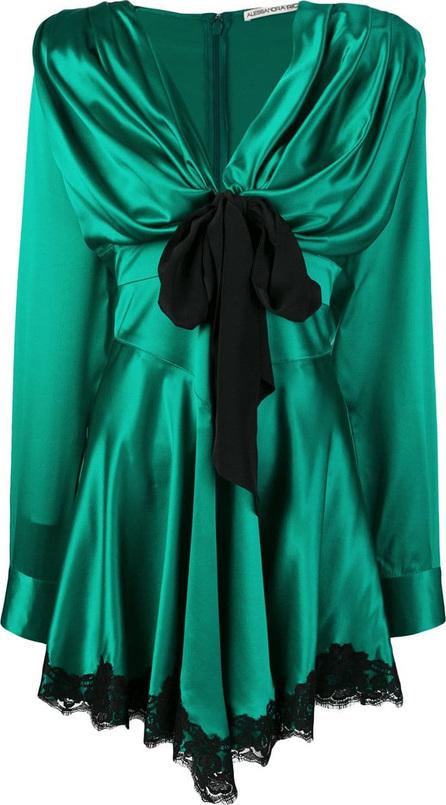 Alessandra Rich Front tie dress