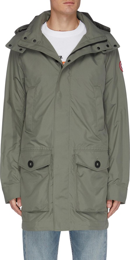 Canada Goose Crew' hooded trench jacket
