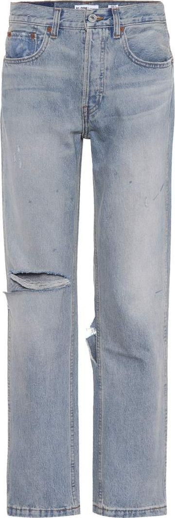 RE/DONE Grunge Straight distressed jeans