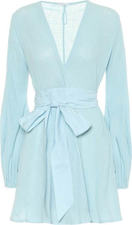 Kalita Exclusive to Mytheresa – Gaia cotton mini wrap dress