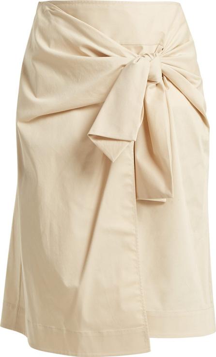 DIANE von FURSTENBERG Tie-front wrap skirt