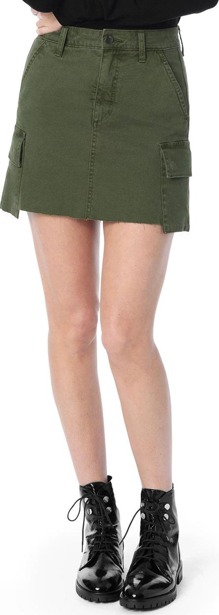 Joe's Jeans The Army Raw-Edge Cargo Skirt