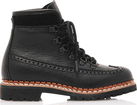 Tabitha Simmons Bexley Lace-Up Leather Boots