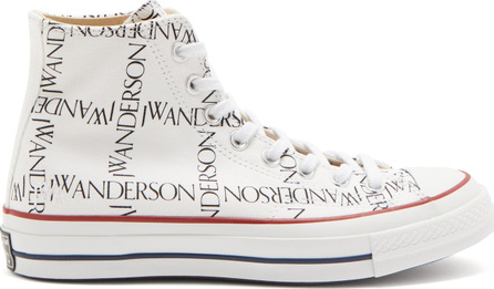 Converse x JW Anderson Chuck 70 canvas logo high-top trainers