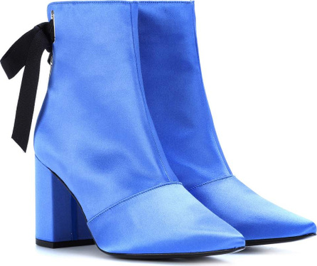 Self Portrait Karli satin ankle boots