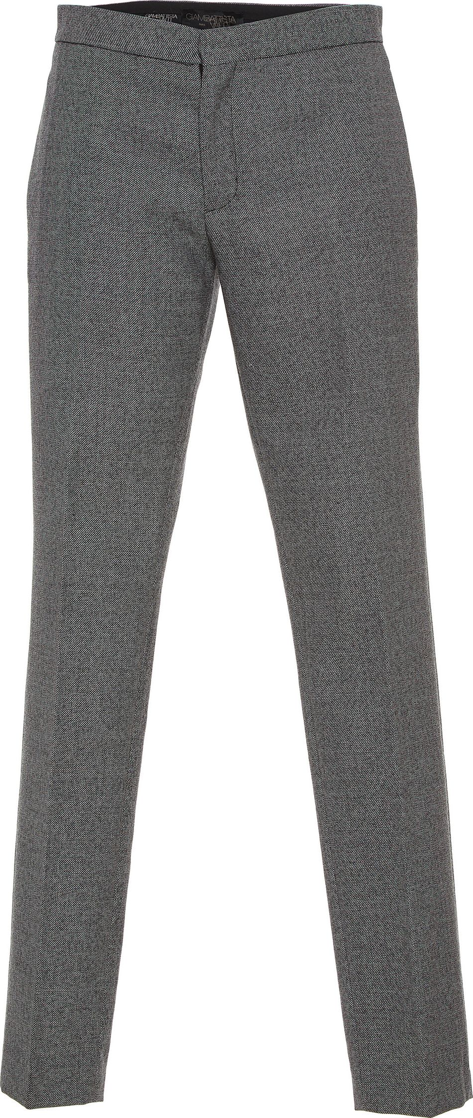 Giambattista Valli - Mid-Rise Straight Leg Wool Trousers
