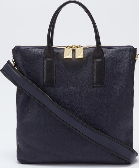 A-Esque 'Portfolio Midi' leather satchel