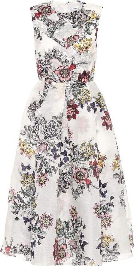 Erdem Ailie floral-printed silk dress