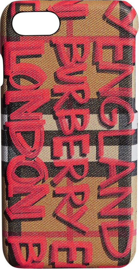 Burberry London England Rufus iPhone 8 Case
