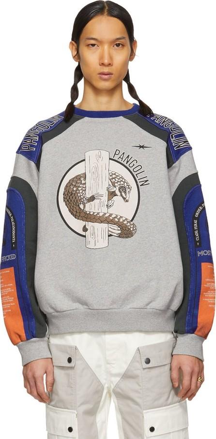 Phipps Grey Pangolin Sweatshirt