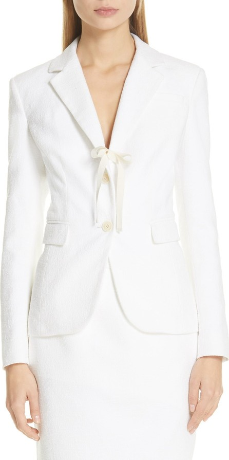 Altuzarra Tie Detail Two-Button Jacket