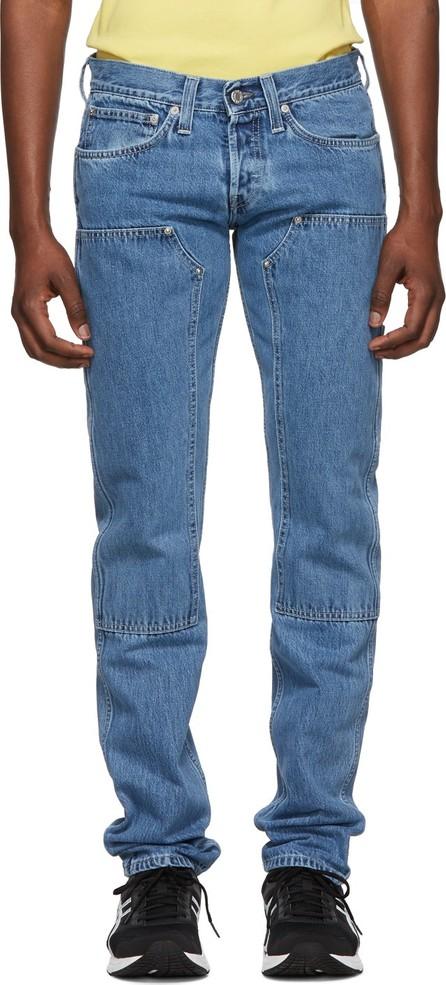 Helmut Lang Indigo Lo Utility Jeans