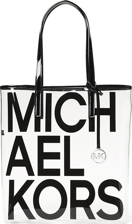 MICHAEL MICHAEL KORS The Michael Large North/South Logo Tote Bag