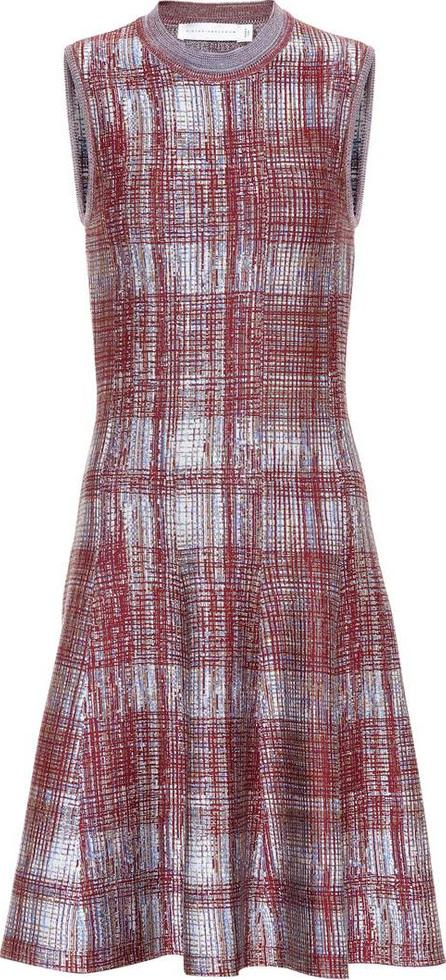 Victoria Beckham Sleeveless silk and wool dress