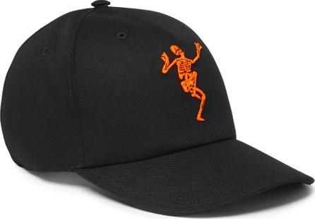 Alexander McQueen Embroidered Cotton-Twill Baseball Cap