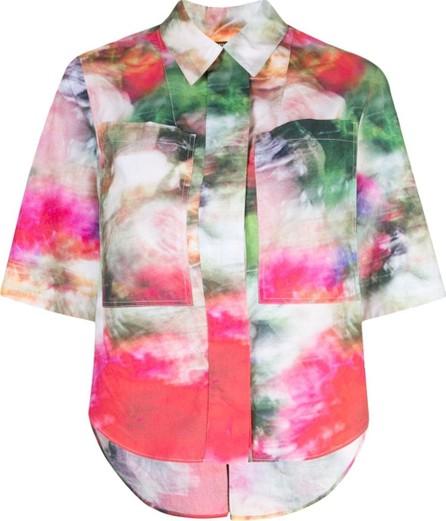 Adam Lippes Camp Printed Cotton Shirt